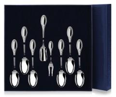Серебряный чайный набор  «Император» из 8 предметов
