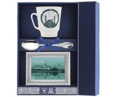 Набор чайный «Майская Казань-Кул Шариф» с рамкой для фото
