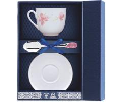 Набор чайный «Ландыш-Розовые цветы»