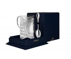 Cеребряный набор для чая «Хозяин»