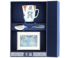 Набор чайный «Майская - Балет Петрушка» с рамкой для фото