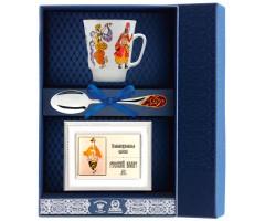 Набор чайный «Майская-Балет Шахерезада» с рамкой для фото