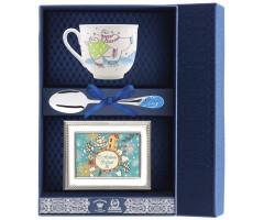 Набор чайный «Ландыш-Фигурное катание» с рамкой для фото