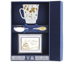 Набор чайный «Майская-Веселый праздник» с рамкой для фото