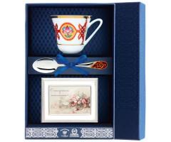 Набор чайный «Сад-Византия» с рамкой для фото