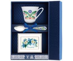Набор чайный «Сад-Замоскворечье» с рамкой для фото