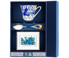 Набор чайный «Сад-Колокола» с рамкой для фото