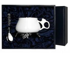 Набор серебряная  чайная чашка «Билибина»