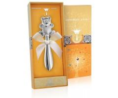 Серебряная погремушка «Мишутка»