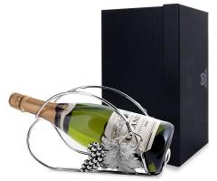 Серебряная подставка под бутылку «Виноград»