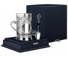 Cеребряный набор для чая «Барокко»