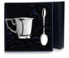 Набор серебряная чашка чайная «Император»