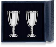 Набор серебряных рюмок «Император» из 2 предметов