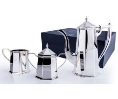 Серебряный кофейный сервиз «Элегант» из 3 предметов
