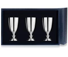 Набор серебряных рюмок №1 из 3 предметов