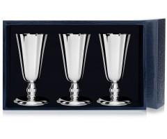 Набор серебряных рюмок №4 из 3 предметов
