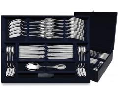 Серебряный  десертный набор «Император»  24 предмета