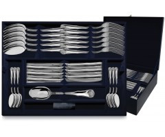 Серебряный столовый набор «Визит» 48 предметов