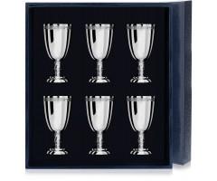 Набор серебряных рюмок «Император» из 6 предметов