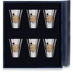 Серебряные наборы рюмок, стопок из 6 предметов