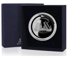 Серебряная закладка для книг «Санкт-Петербург»