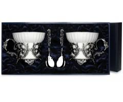 Набор серебряная чайная пара «Симфония»