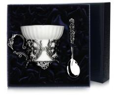 Набор серебряная  чайная  чашка «Симфония»